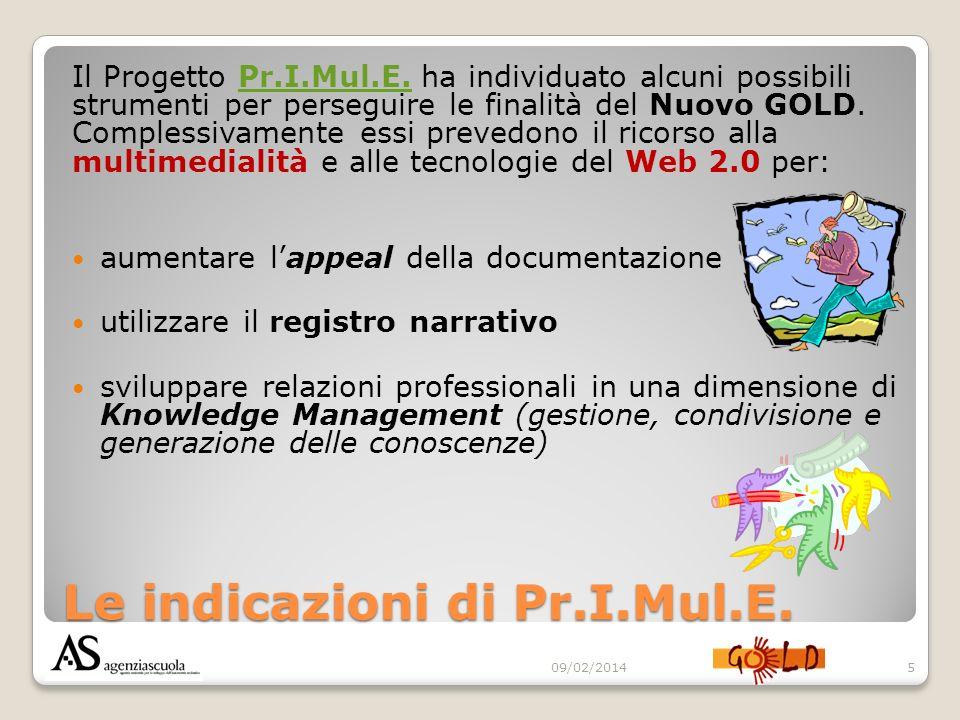 Le indicazioni di Pr.I.Mul.E.Il Progetto Pr.I.Mul.E.