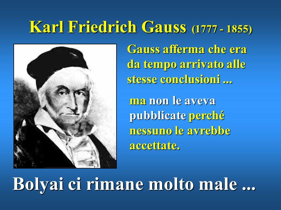 Il padre Wolfgang, orgoglioso, sottopone il lavoro del figlio al più grande matematico dellepoca Karl Friedrich Gauss ma...