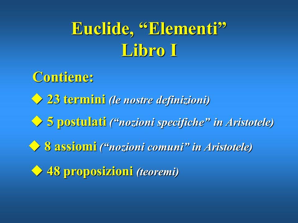 Edizione del 1498 degli Elementi di Euclide Limportanza degli Elementi non è tanto nei risultati e nelle relazioni geometriche in essi contenute, quan