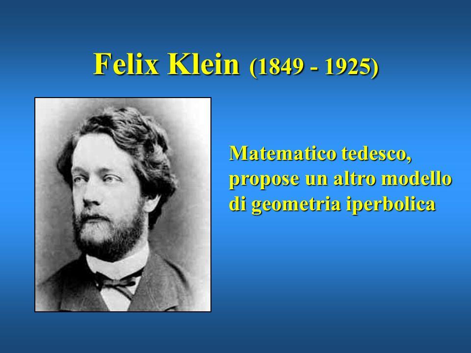 Eugenio Beltrami (1835 - 1900) Matematico italiano, nel 1868 propose il modello di geometria iperbolica basato sulla pseudosfera.