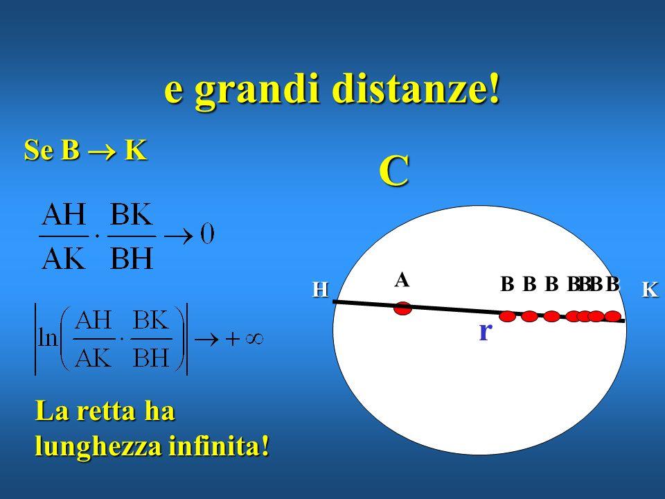 CA r H ma efficace per piccole distanze... BKBBBB B Se B A