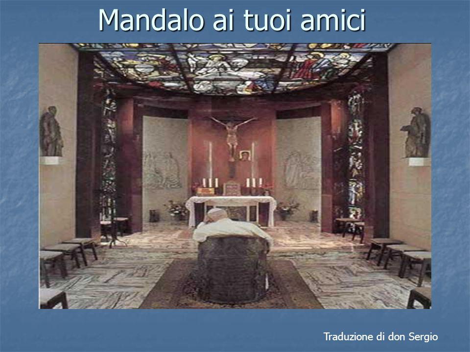 A Giovanni Paolo II Nel 4° anniversario del suo incontro con Dio 2/4/2009