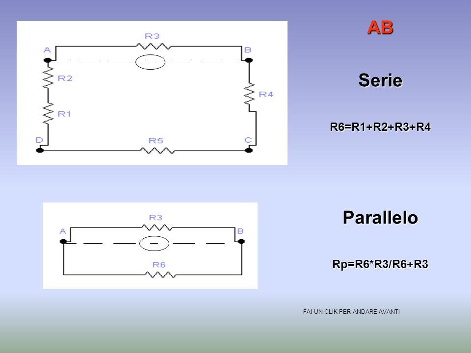 R1=R5= 8 ohm R2=R4= 5 ohm R3= 2 ohm In un circuito,ad esempio questo,possiamo ottenere un valore di resistenza diverso al variare dei punti. Ora calco