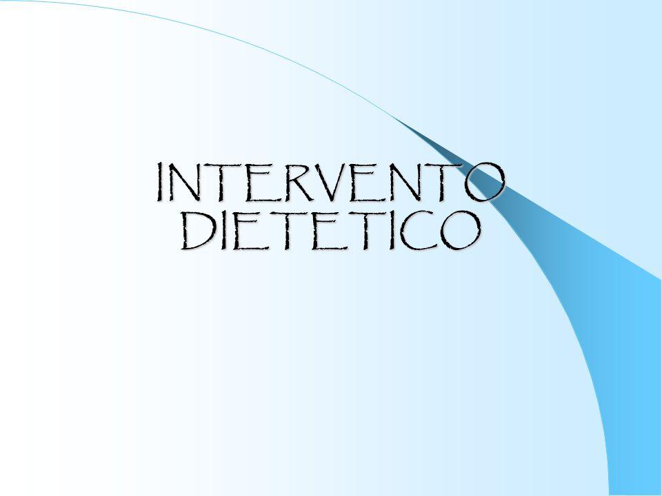 INTERVENTO DIETETICO