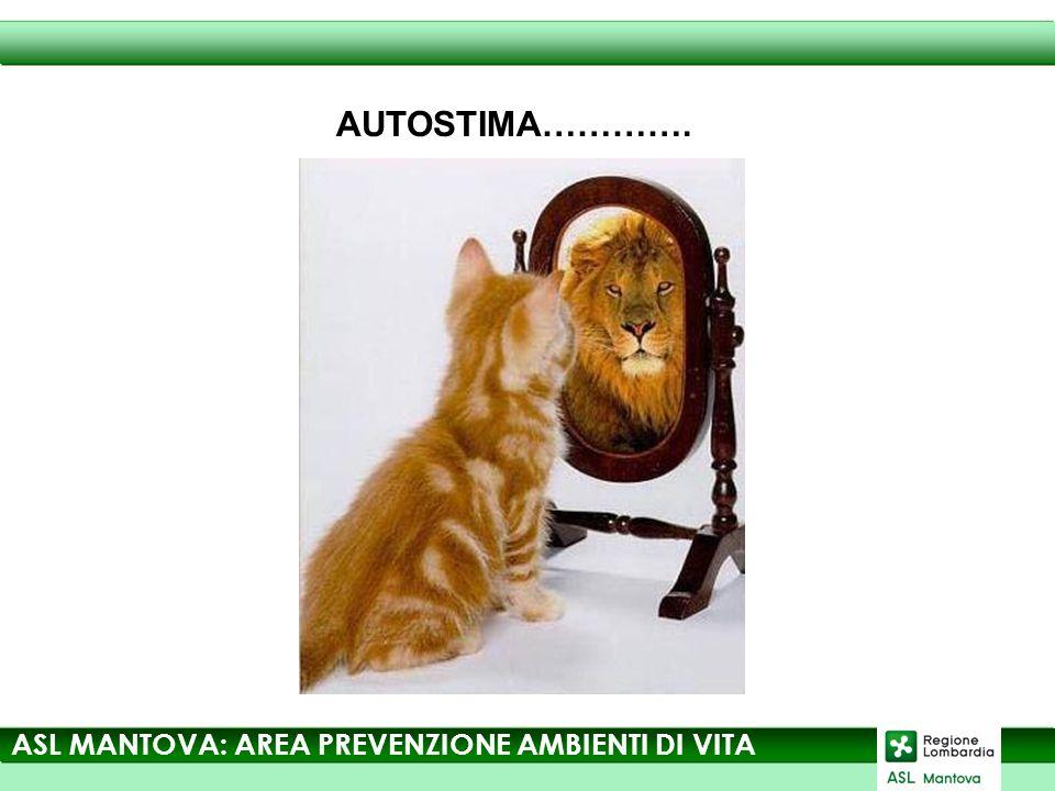 ASL MANTOVA: AREA PREVENZIONE AMBIENTI DI VITA AUTOSTIMA………….