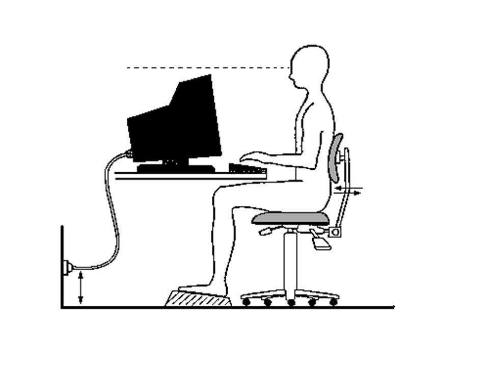 D. Lvo 626/94 TITOLO VI USO DI ATTREZZATURE MUNITE DI VIDEO-TERMINALE CARATTERISTICHE DELLA SEDIA 1. Deve essere dotata di almeno 5 razze e di rotelle