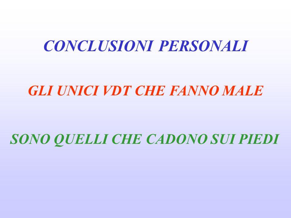 D. Lvo 626/94 TITOLO VI USO DI ATTREZZATURE MUNITE DI VIDEO-TERMINALE GRUPPO DI LAVORO O.M.S. (Br J Ind Med 46: 217-221, 1989) CONCLUSIONI SONO DA ESC