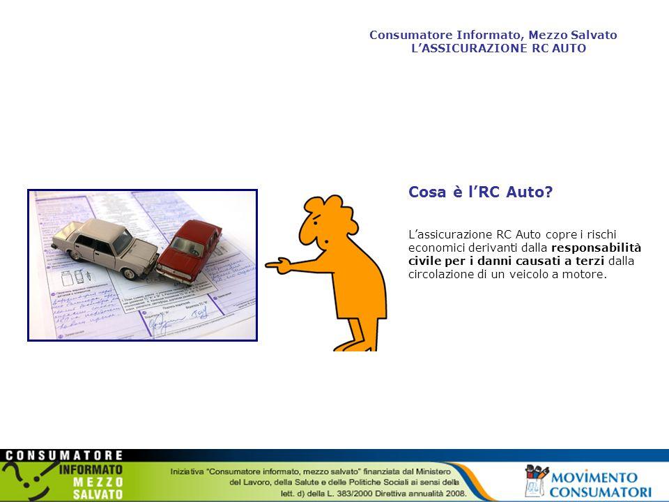 Obbligo di assicurazione Poiché è possibile che il responsabile non sia in grado di fare fronte con il proprio patrimonio allobbligo di risarcimento, il legislatore, dal 1969, ha imposto come obbligatoria lRC Auto.