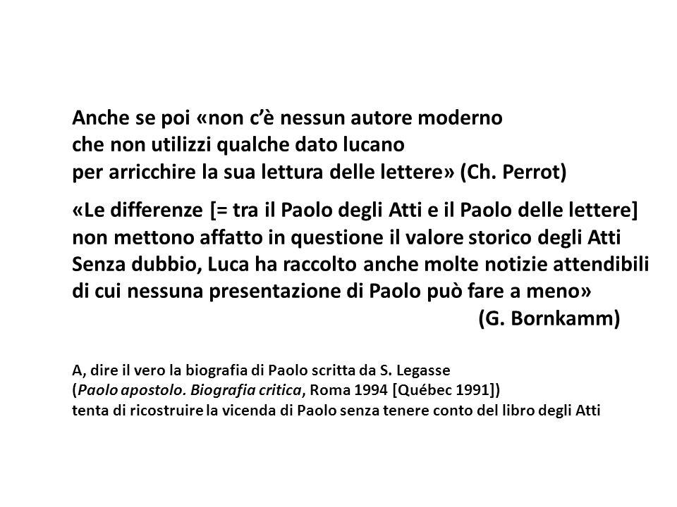 Anche se poi «non cè nessun autore moderno che non utilizzi qualche dato lucano per arricchire la sua lettura delle lettere» (Ch. Perrot) «Le differen