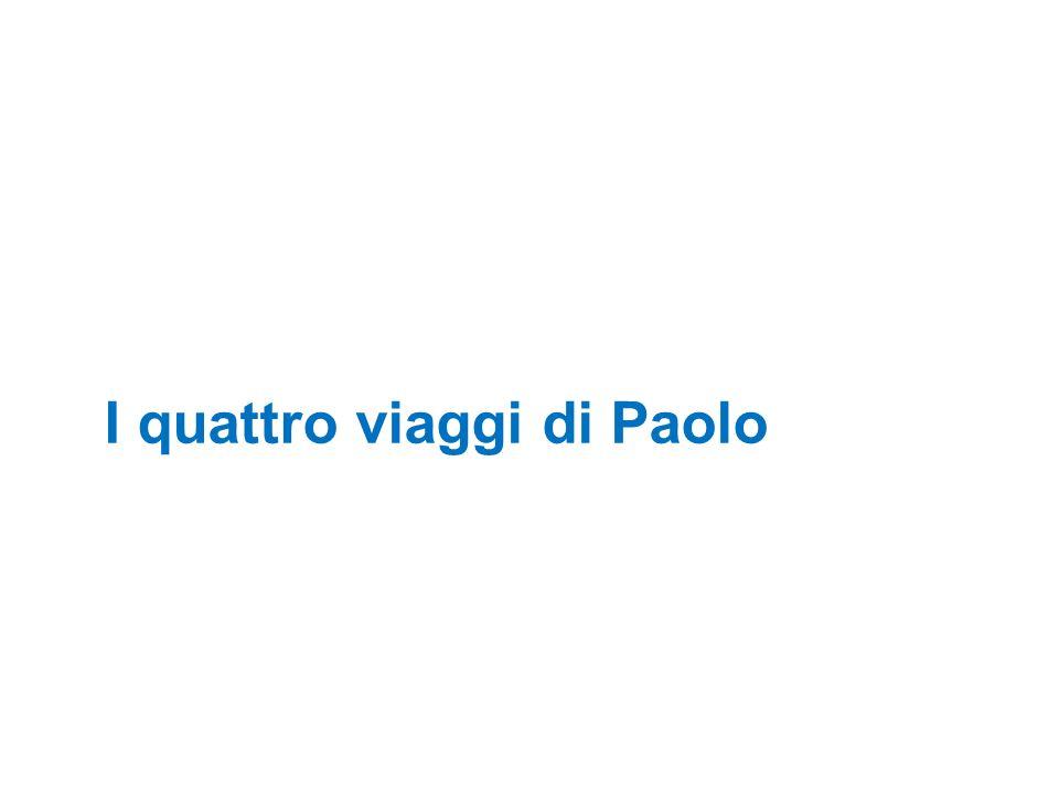 I quattro viaggi di Paolo