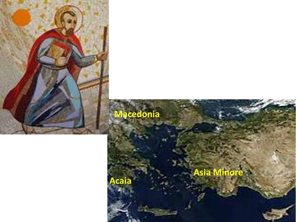 Acaia Asia Minore Macedonia