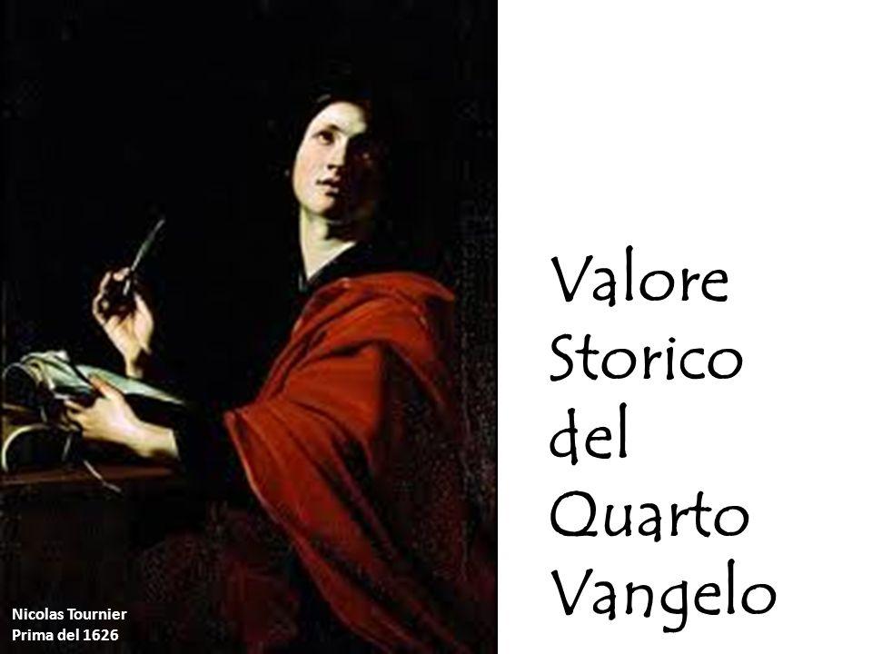 Valore storico del vangelo «spirituale e «teologico» o` a[gioj Iwa,nnhj o` qeo,logoj San Giovanni «Il Teologo»