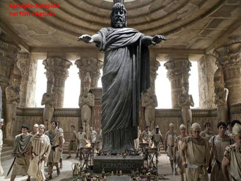 Asclepio-Serapide nel film «Agora»