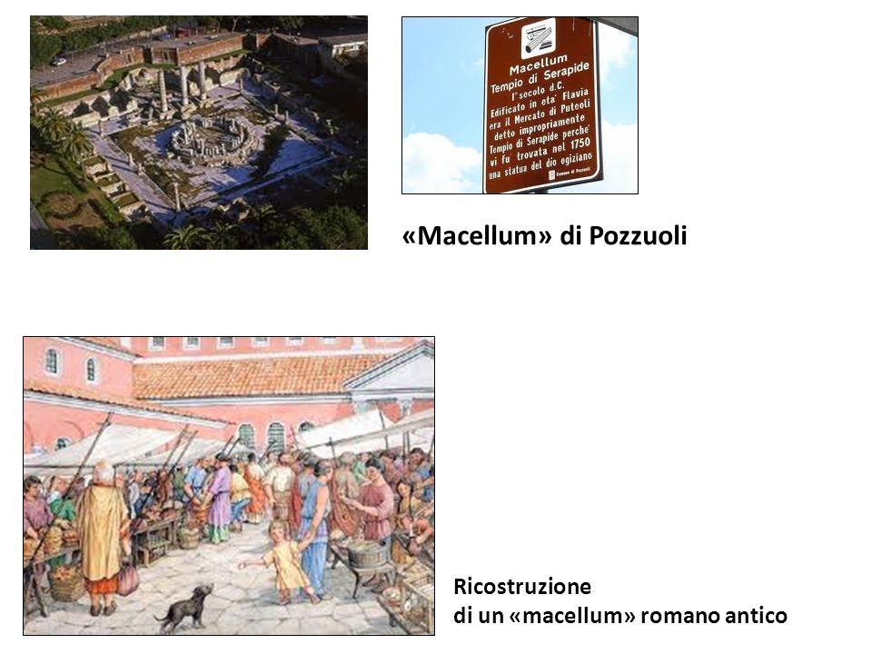 «Macellum» di Pozzuoli Ricostruzione di un «macellum» romano antico
