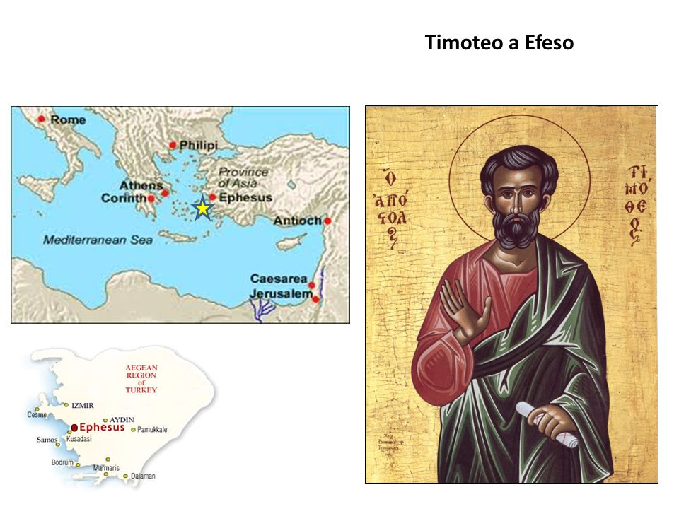 Timoteo era nativo probabilmente di Listra (cf.At 16,1-2).