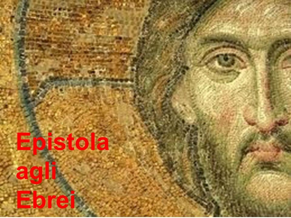 i destinatari: (b) cristiani provenienti dal giudaismo Lopinione secondo cui lEpistola** è destinata a giudeo-cristiani è sostenuta ancora oggi dalla maggioranza dei commentatori (C.