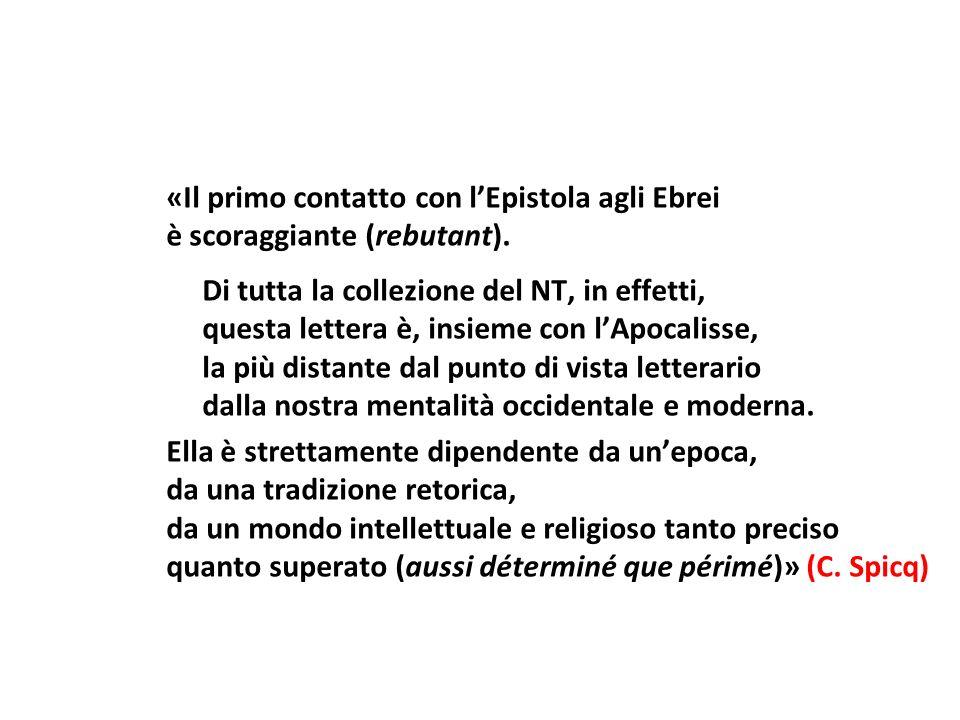 Argomenti contrari allorigine paolina sono: - lassenza del nome e dello stile di Paolo - lassenza della forma epistolare paolina.