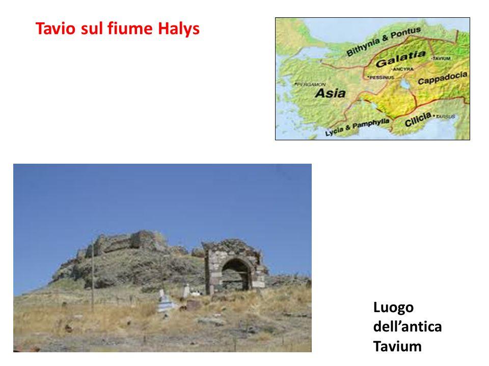 Tavio sul fiume Halys Luogo dellantica Tavium
