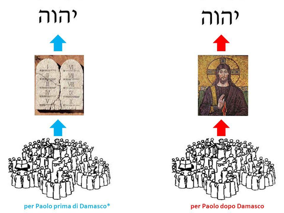 per Paolo prima di Damasco*per Paolo dopo Damasco