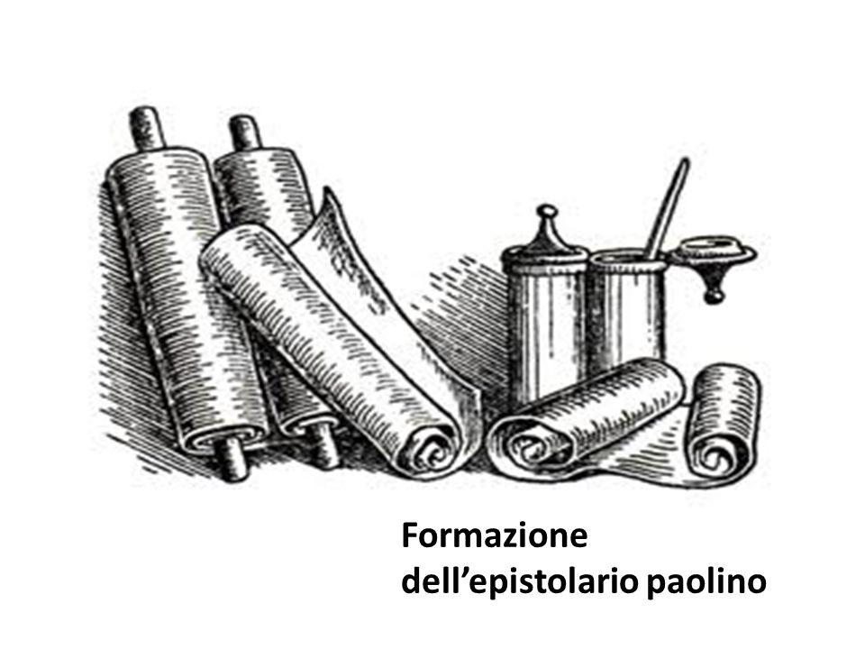 Formazione dellepistolario paolino