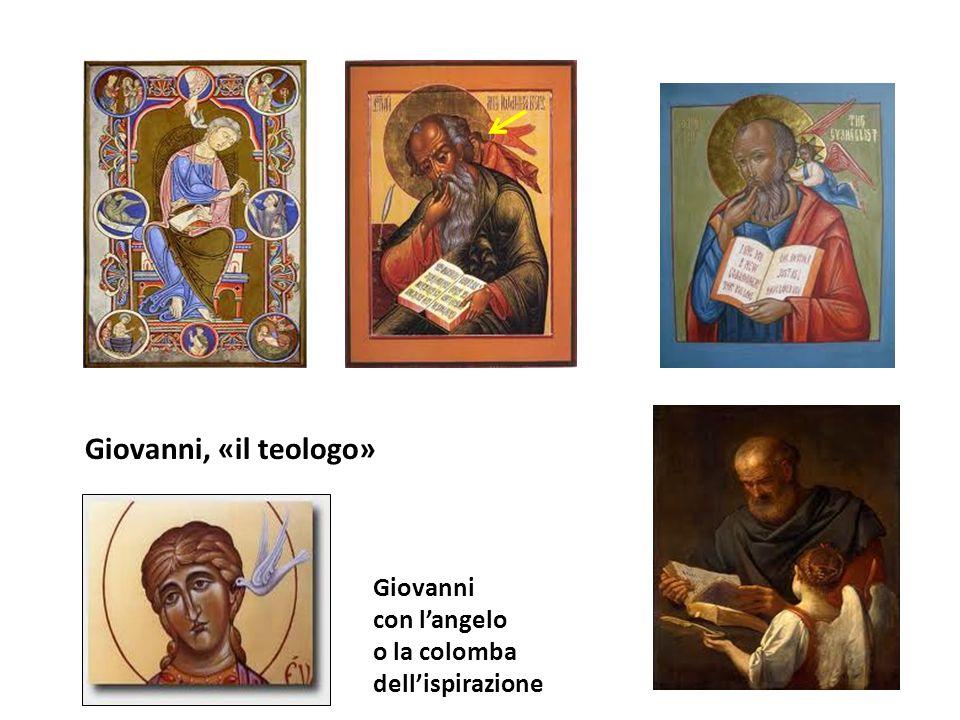 Giovanni con langelo o la colomba dellispirazione Giovanni, «il teologo»