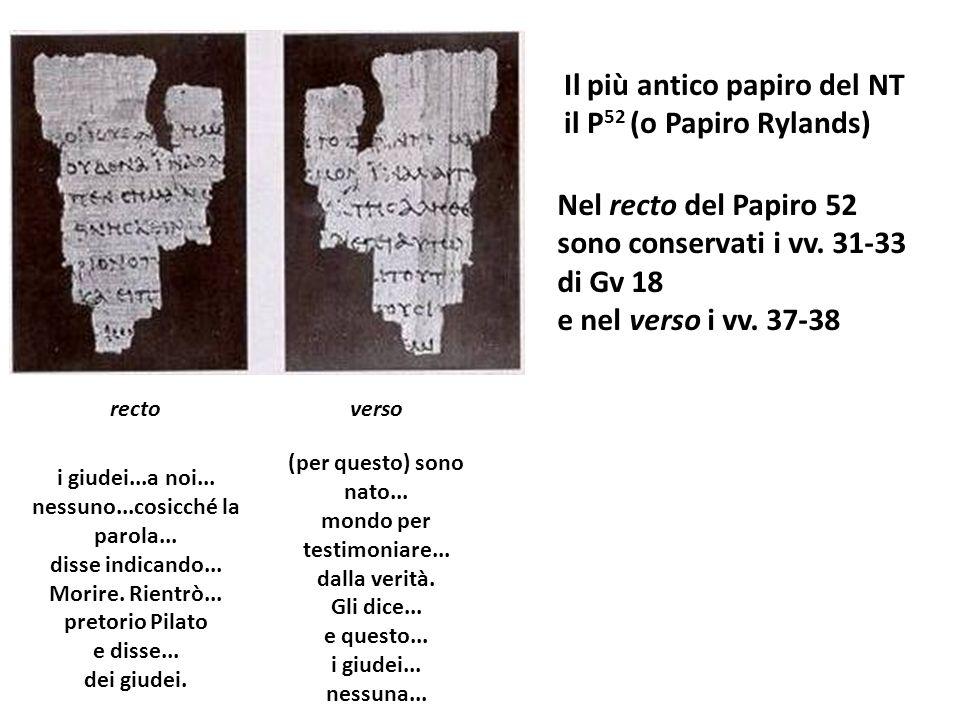 rectoverso i giudei...a noi... nessuno...cosicché la parola... disse indicando... Morire. Rientrò... pretorio Pilato e disse... dei giudei. (per quest