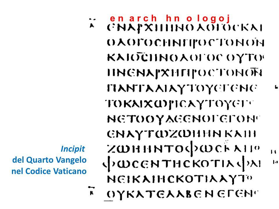 Trasmissione del testo e varianti testuali I manoscritti del quarto vangelo Il quarto vangelo non solo è contenuto nelle Bibbie del sec.
