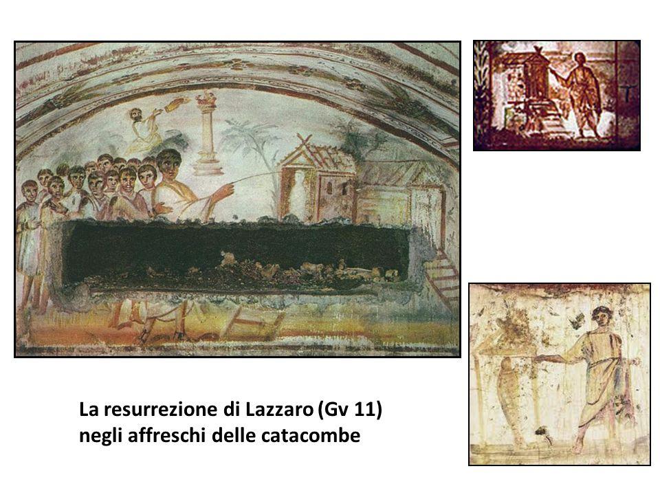 La resurrezione di Lazzaro (Gv 11) negli affreschi delle catacombe