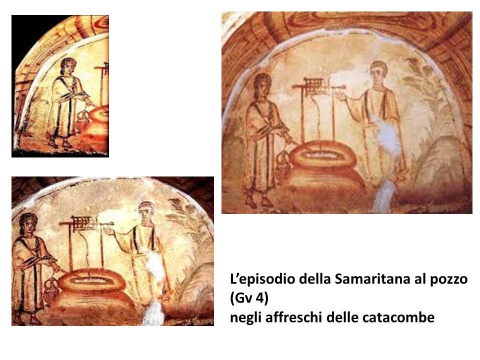 Lepisodio della Samaritana al pozzo (Gv 4) negli affreschi delle catacombe