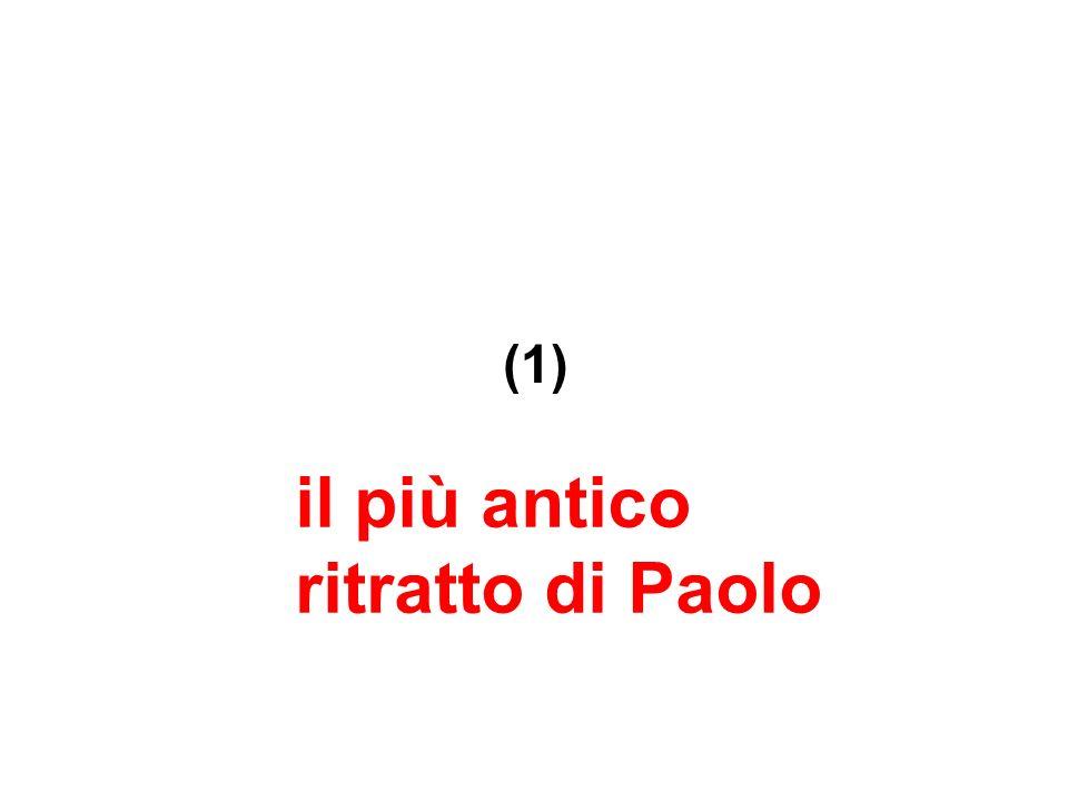il più antico ritratto di Paolo (1)