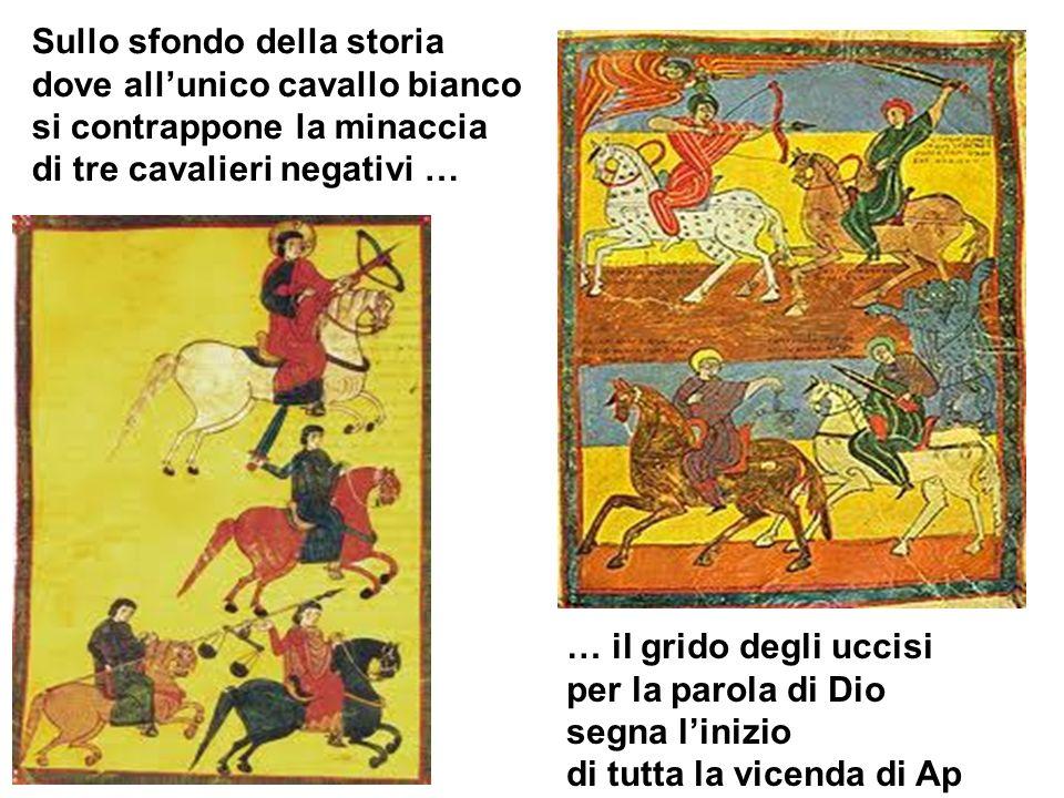 … il grido degli uccisi per la parola di Dio segna linizio di tutta la vicenda di Ap Sullo sfondo della storia dove allunico cavallo bianco si contrap