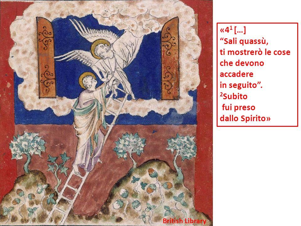 «4 2 Ed ecco cera un trono nel cielo e sul trono Uno stava seduto.