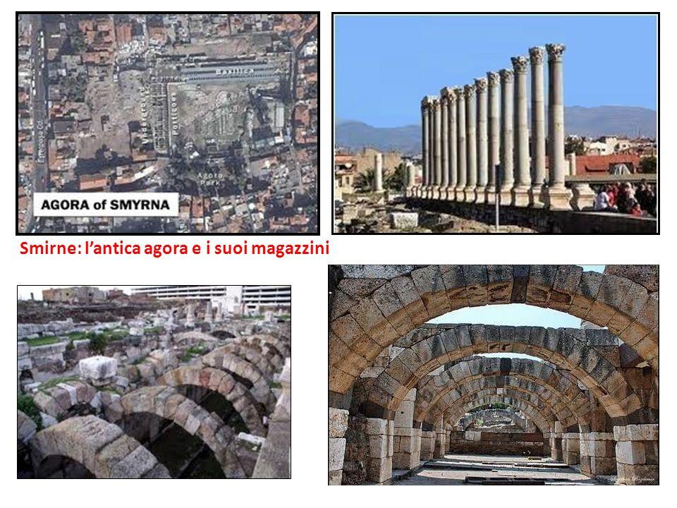 Smirne: lantica agora e i suoi magazzini