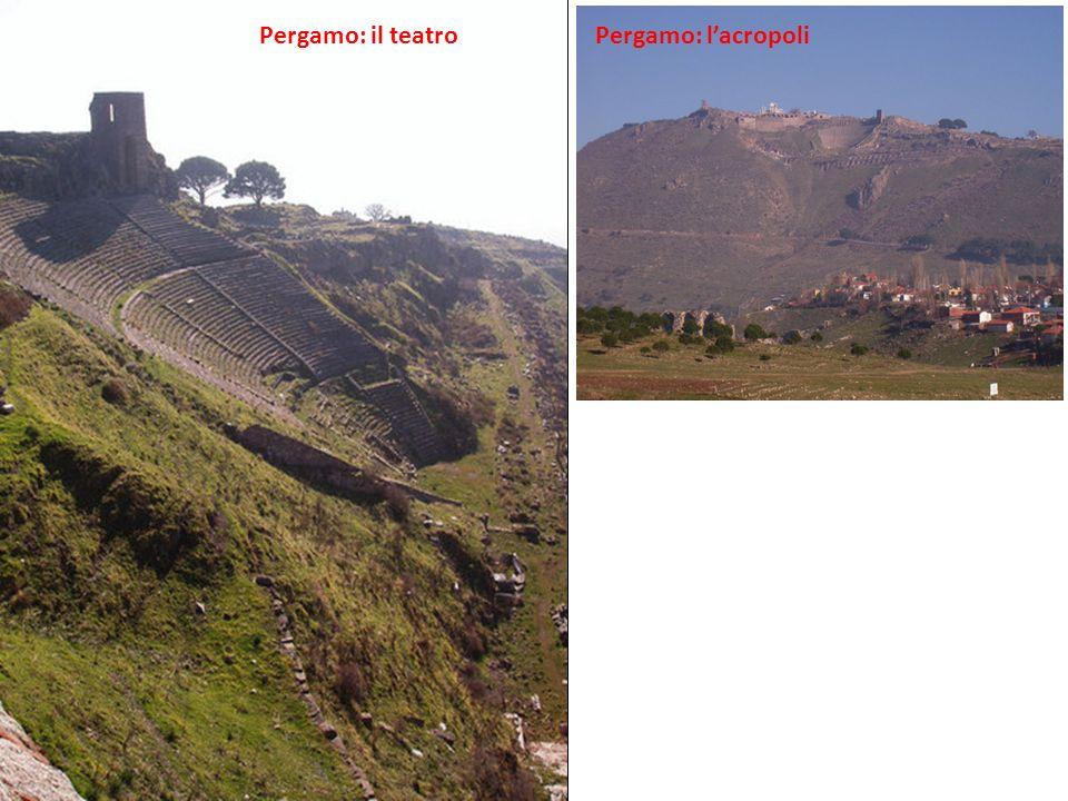 Pergamo: lacropoliPergamo: il teatro