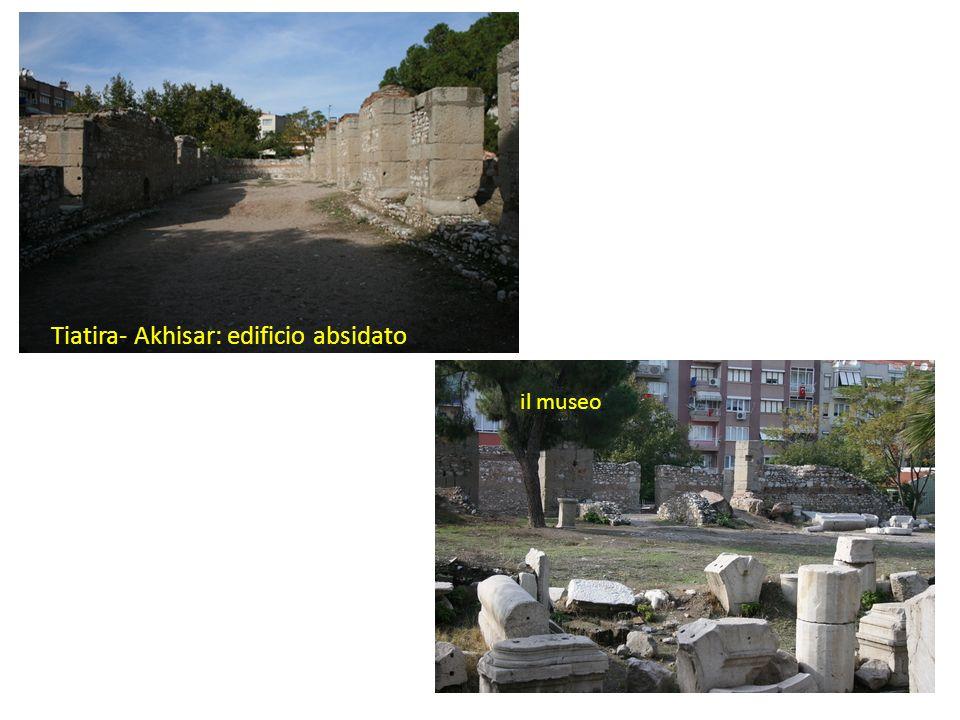 Tiatira- Akhisar: edificio absidato il museo