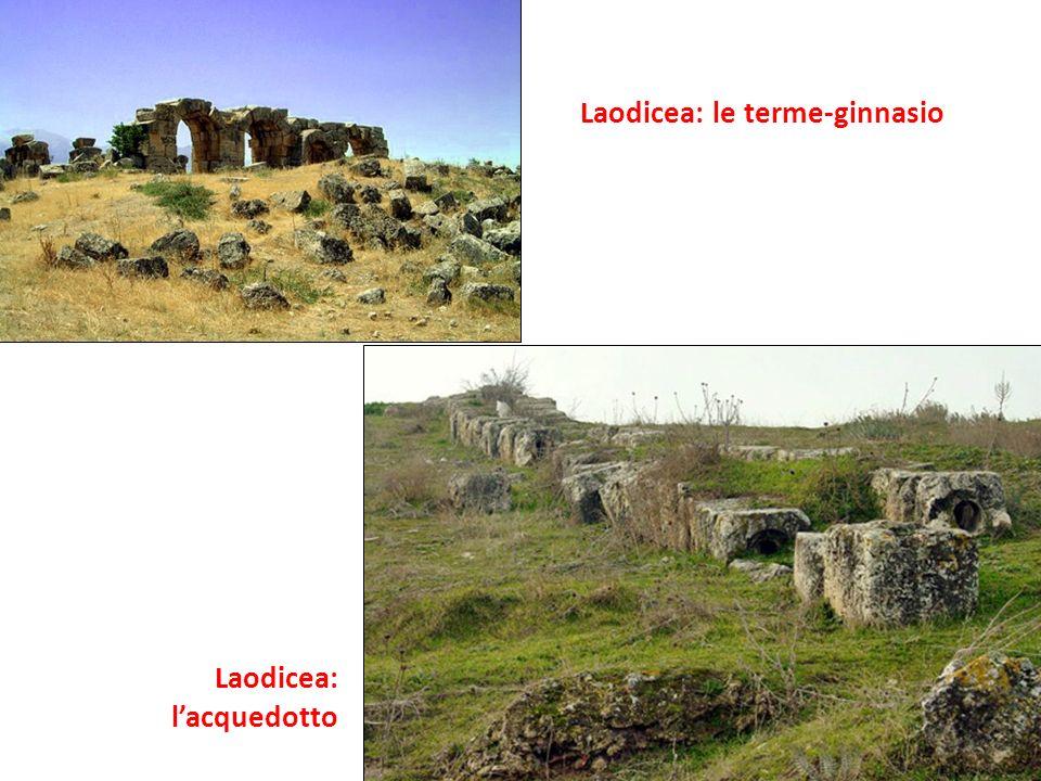Laodicea: le terme-ginnasio Laodicea: lacquedotto