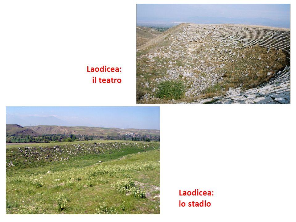 Laodicea: il teatro Laodicea: lo stadio