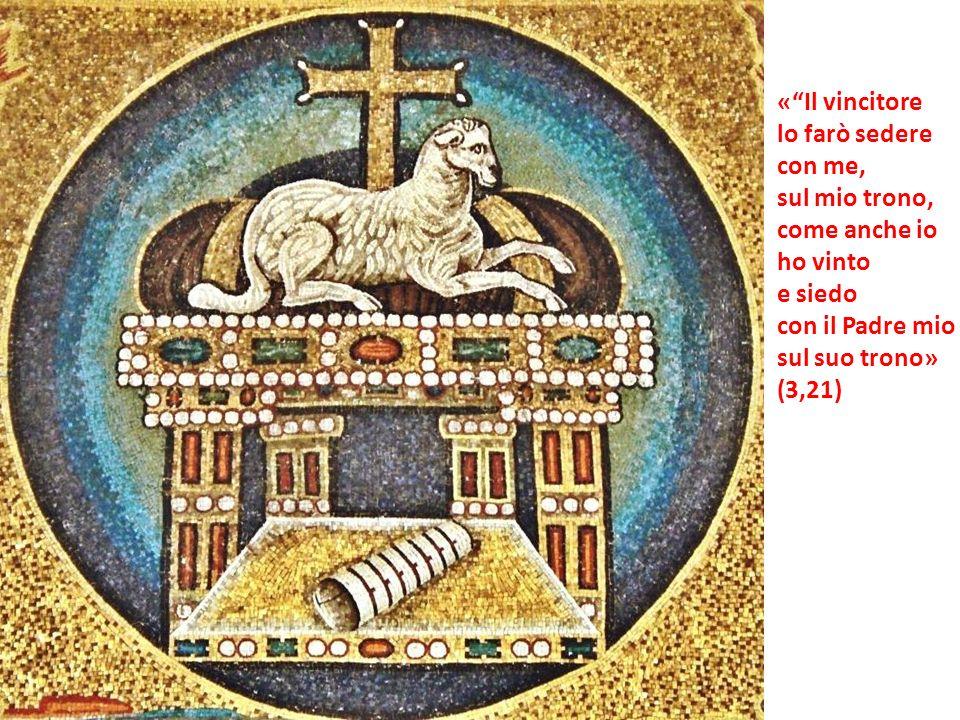 «Il vincitore lo farò sedere con me, sul mio trono, come anche io ho vinto e siedo con il Padre mio sul suo trono» (3,21)