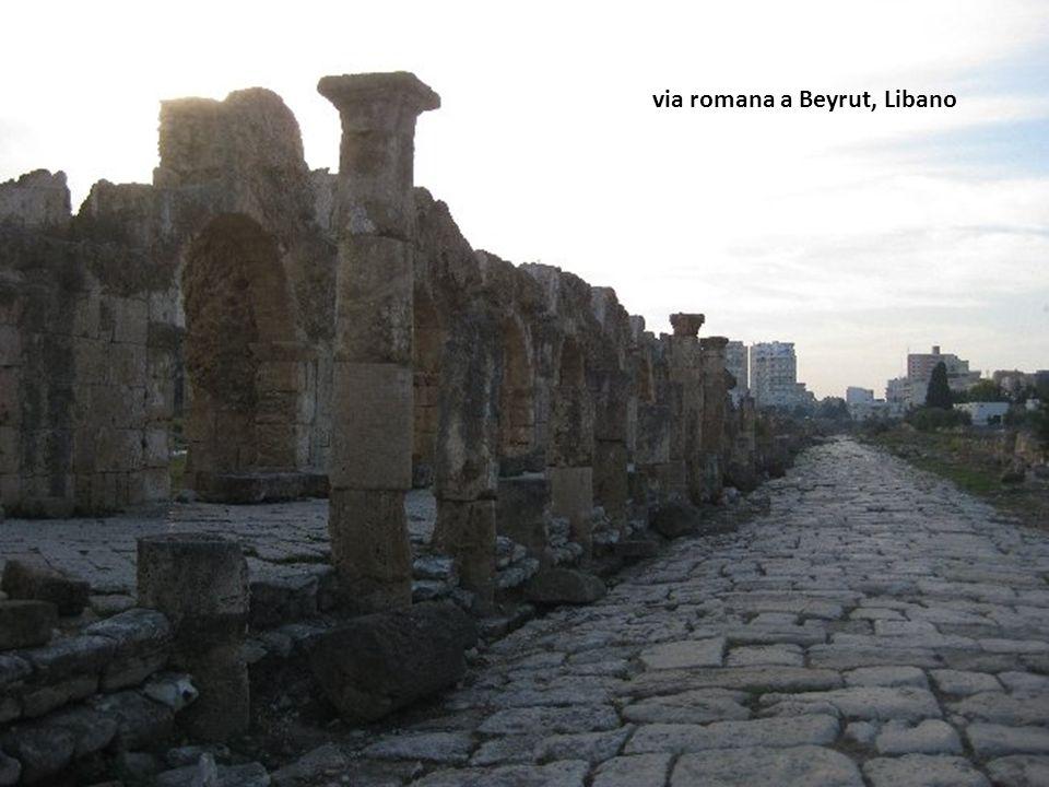via romana a Beyrut, Libano