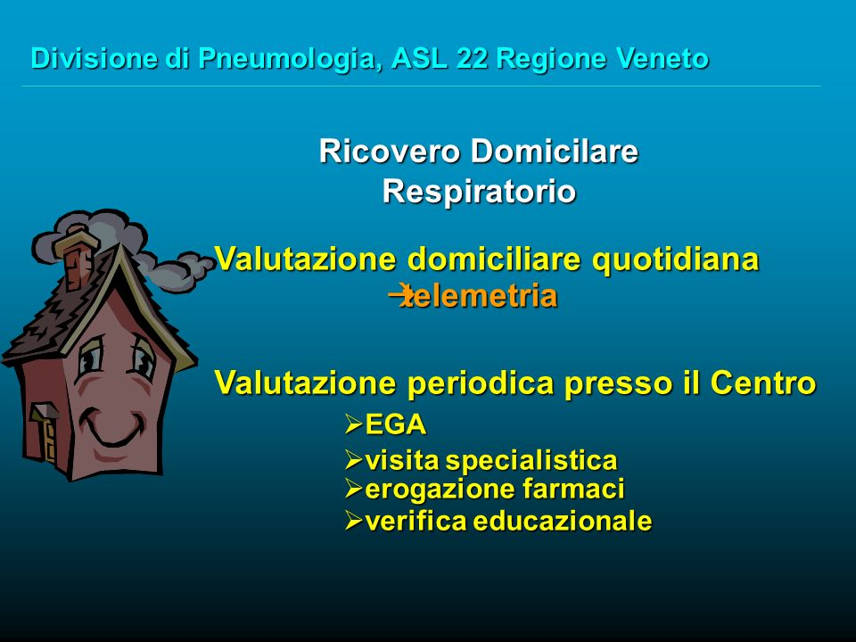 Long Term Oxygen Tele-Home Monitoring, the Italian Perspective R.