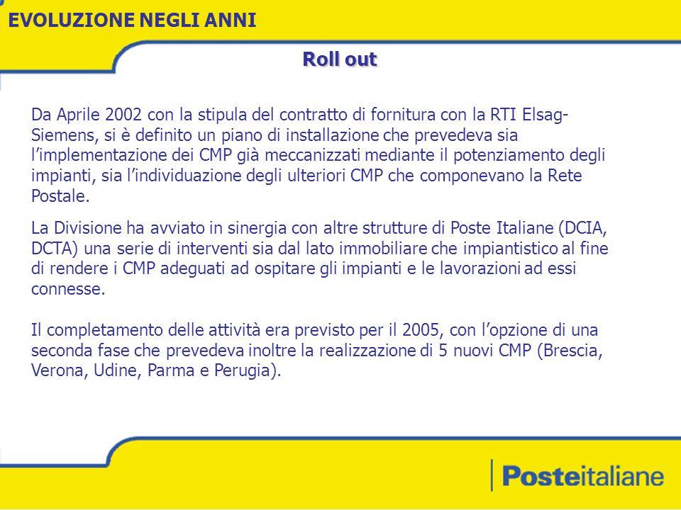 - 10 - Ingegneria dei Processi di Rete per La Sapienza Nel corso del 2003 la tempistica della Nuova Rete è stata rimodulata con temine al 2008.