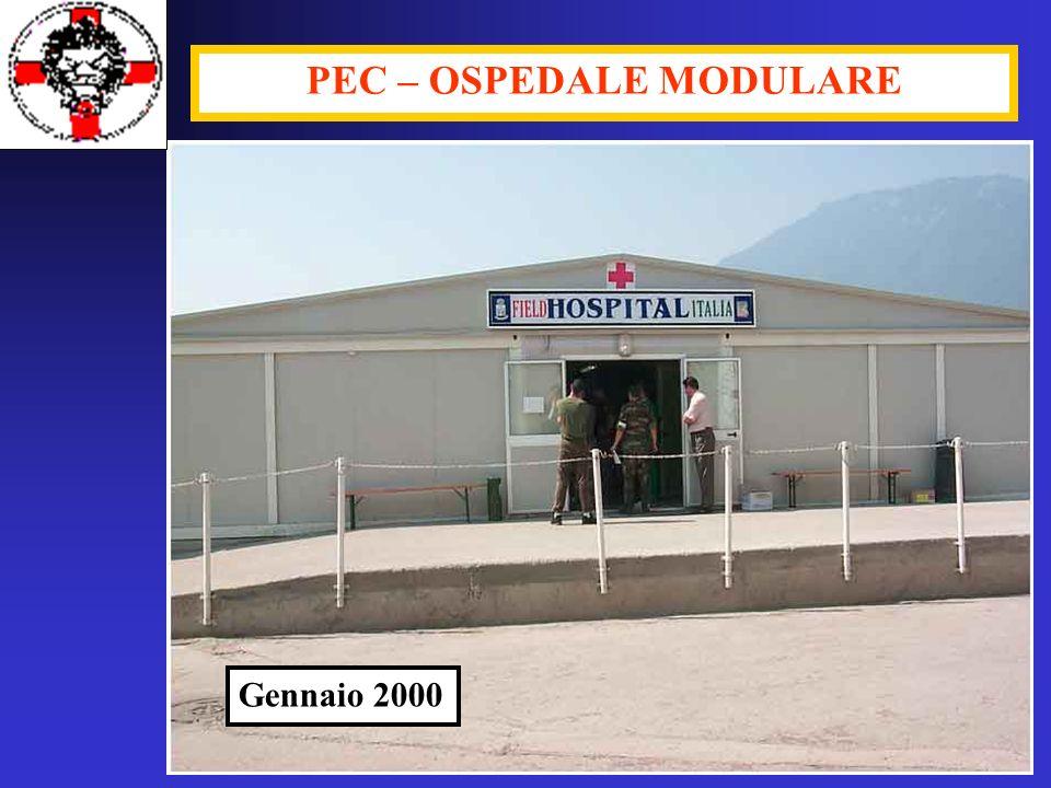 PEC – OSPEDALE MODULARE Gennaio 2000