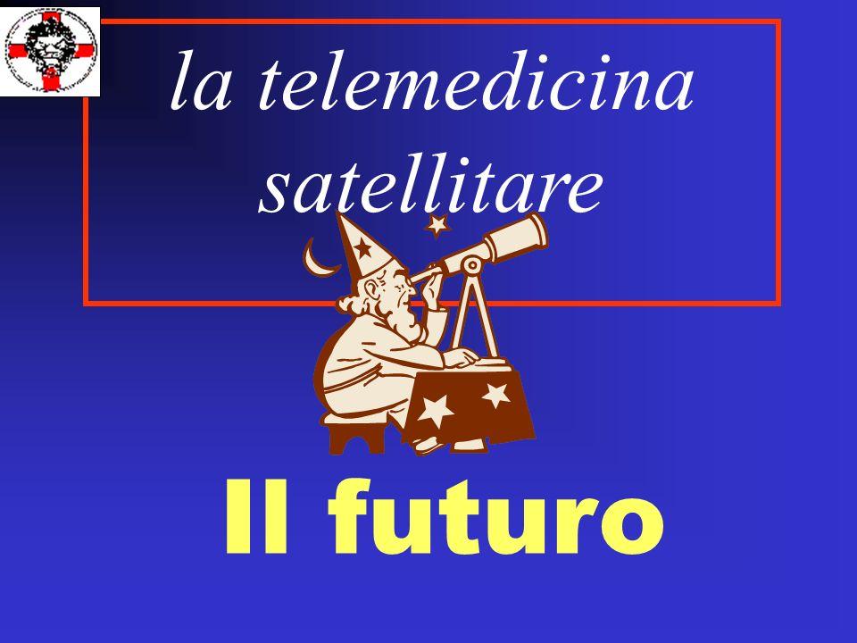 Il futuro la telemedicina satellitare