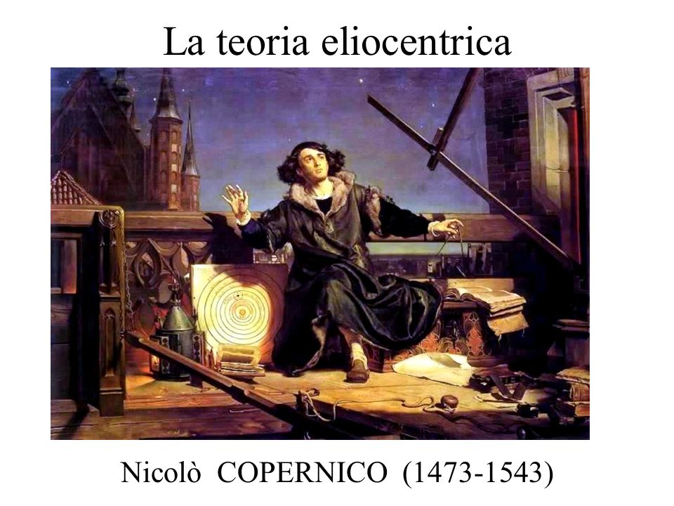 La teoria eliocentrica Nicolò COPERNICO (1473-1543)