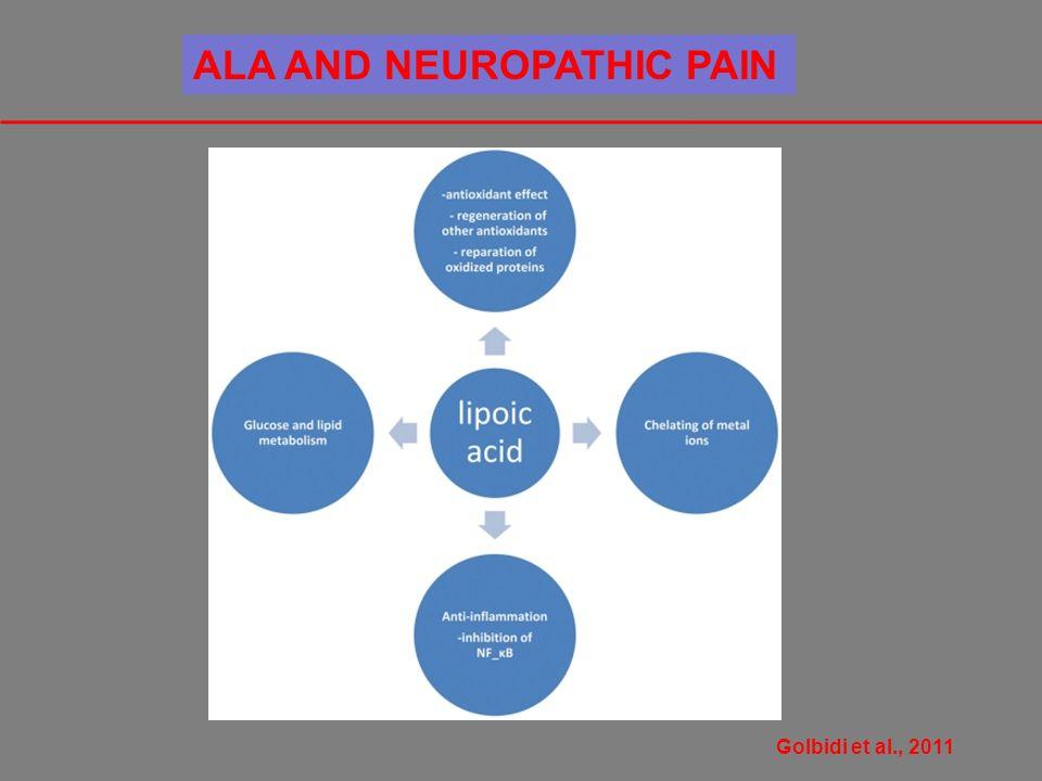Golbidi et al., 2011 ALA AND NEUROPATHIC PAIN
