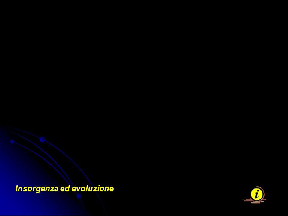 Insorgenza ed evoluzione