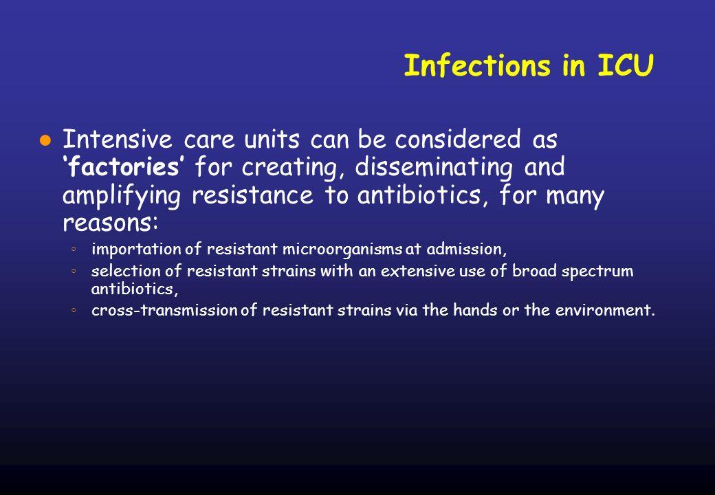 Isolati di K.pneumoniae produttore di ESBL in Terapia intensiva (2001-2005) N.