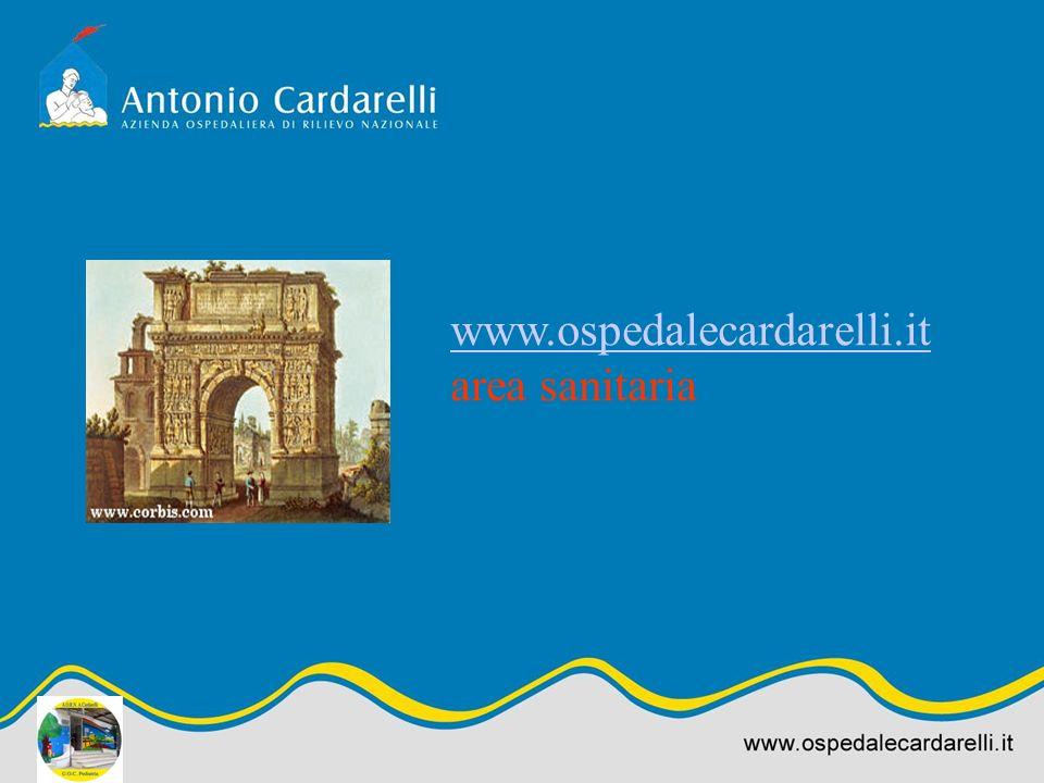 www.ospedalecardarelli.it area sanitaria