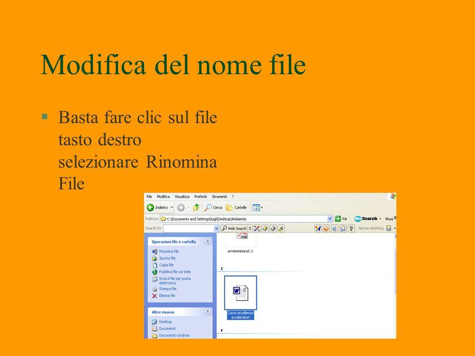 Apertura file da Esplora Risorse §Fare doppio clic sulla icona desiderata per aprire il documento con il relativo programma §Le cartelle e file posson