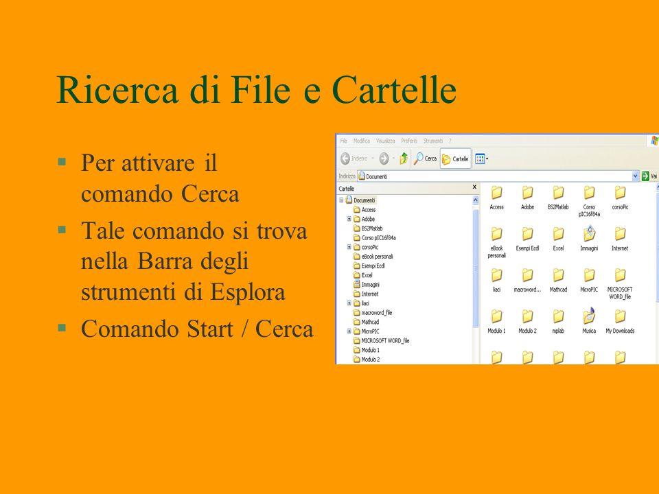 Modifica del nome file §Basta fare clic sul file tasto destro selezionare Rinomina File